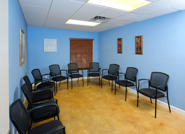 elan recovery + wellness meeting room